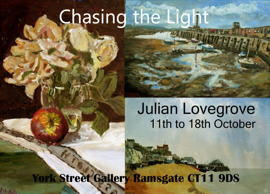 Chasing the Light Exhibition Postcard