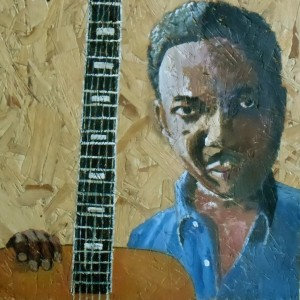 Muddy Waters, singer of the blues.