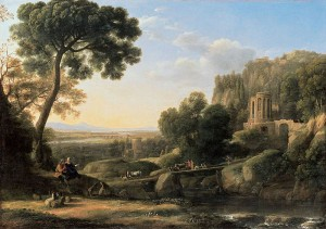Claude Lorrain, Landscape with Shepherds 1644