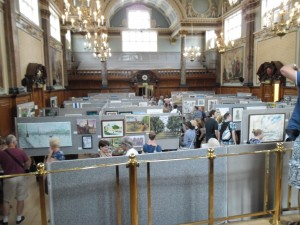 Pintar Rapido - the Exhibition at Chelsea Old Town Hall, London