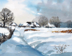 Painting Deep Winter