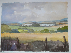 View from Holly Hill, near Birling, Kent