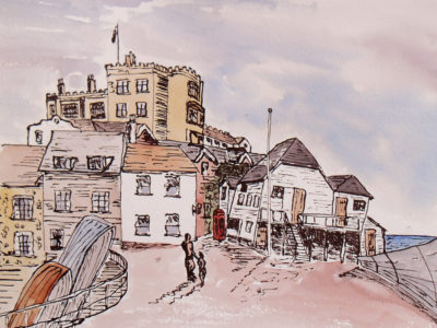 drawing of old broadstairs