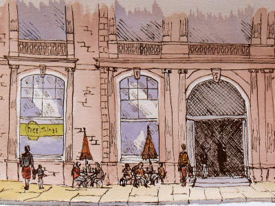 Drawing Custom House Ramsgate