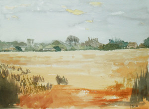 painting of Ludham Norfolk