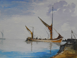 Old Sailing Barge