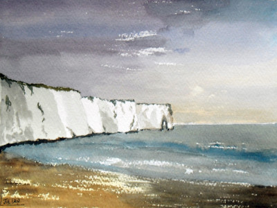painting of Kingsgate Bay
