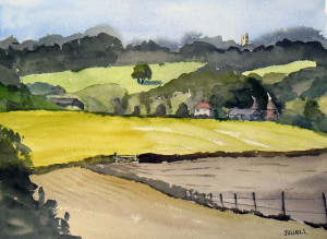 Mid Kent View Painting