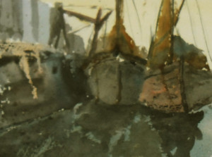 Old Sailing Barges