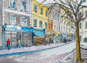 drawing of Ramsgate street