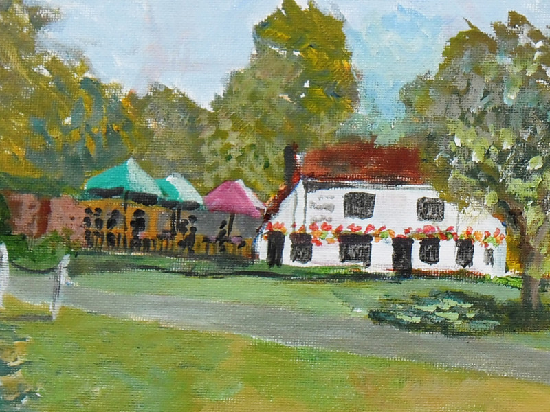 painting of wickhambreaux