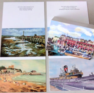 Set of 4 Greetings Cards of Thanet
