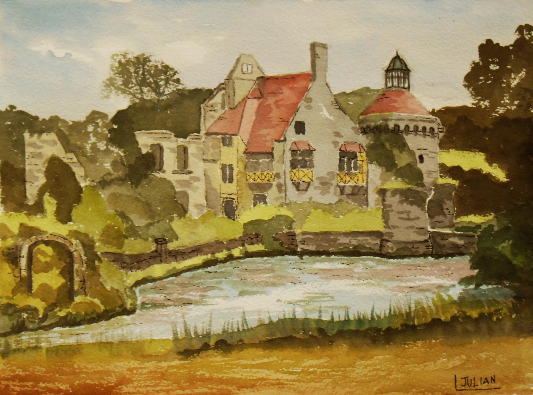 Painted Ruins Art
